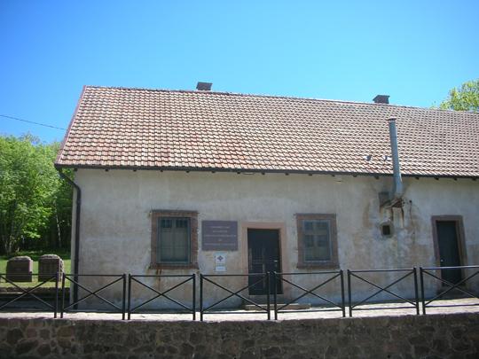 Die Gaskammer des KL Natzweiler