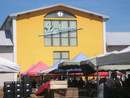 Die Markthalle von Mulhouse