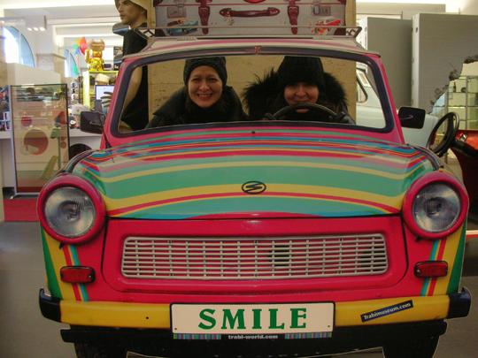 Zwei italienische Schwestern in Berlin