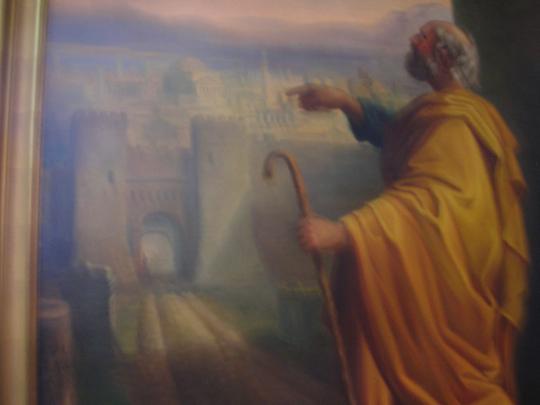 Bild im Museum für sakrale Kunst, dessen Haus 1234 erstmals erwähnt wurde