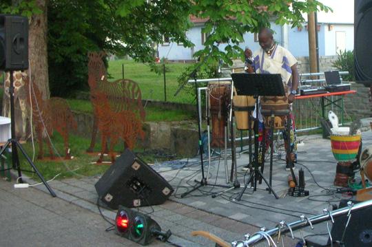 Musik aus Afrika in Gallenweiler
