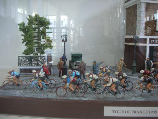 Modell der Tour de France 1908