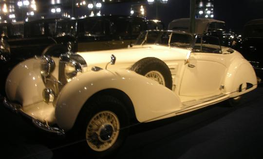 Der berühmte Mercedes SLK