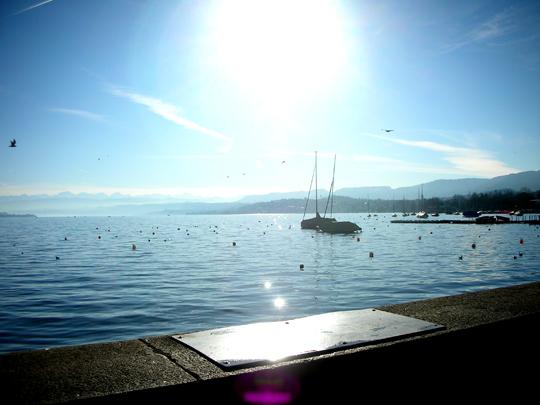 Bodensee. Oder Zürichsee?
