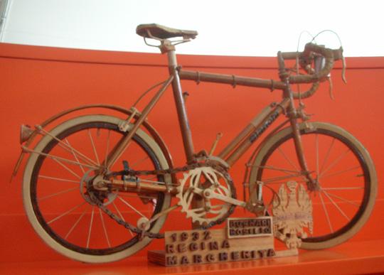 Die Regina Margherita von 1932, aus Holz, wie mir scheint