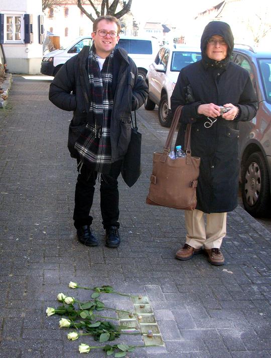 Donna Mosevius Levinsohn und ihr Sohn James Michael