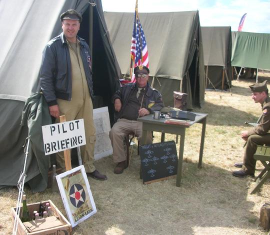 Einsatzzentrale für Piloten
