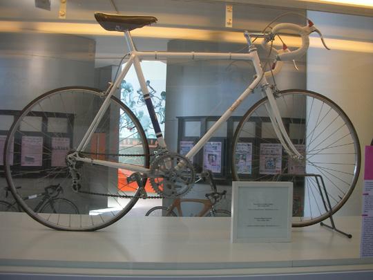 Das Rad, das Fiorenzo Magnis 1955 bewegte