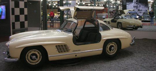 Der Flügeltüren-Mercedes, 1953