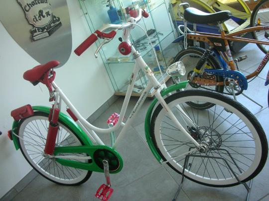 Ein Rad für Italienerinnen
