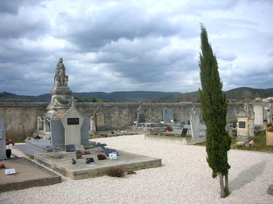 Eines meiner gelungensten Friedhof-Fotos: Südfrankreich