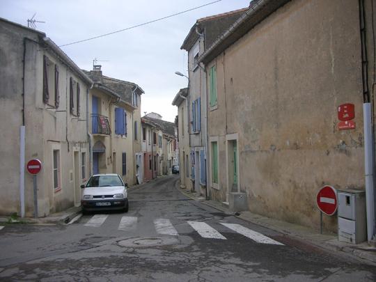 Die Judenstraße von Vauvert