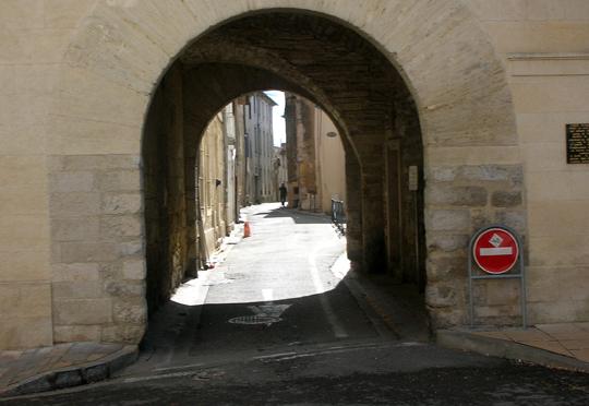 Lunel in Südfrankreich. Erinnert an Nordafrika. Vorher hatte ich bei einem Araber gegessen