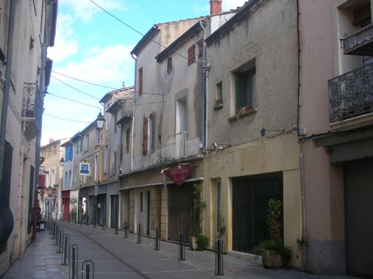 Die Altstadt von Lunel