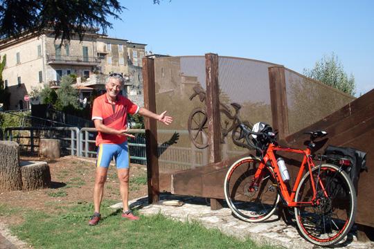 Mein Freund Romano Puglisi und sein neues knallrotes Trek