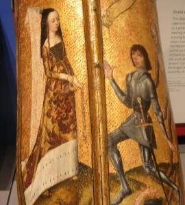 Klares Signal: Troubadour und Angebetete (14. Jahrhundert, British Museum)