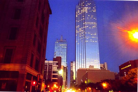 Dallas, Texas. Ein fahrradfeindlicher Fleck