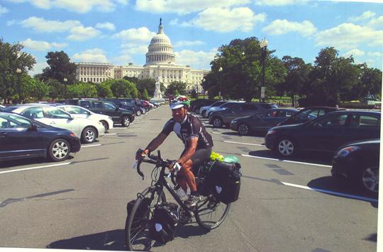 Washington, D. C. Im Hintergrund das Kapitol