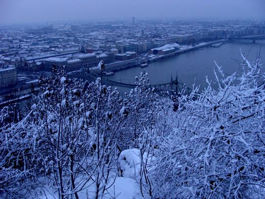 Frankfurt im Schnee