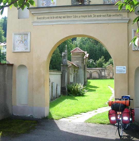 Ein Friedhof in der Steiermark
