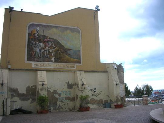 Erinnerung an König Manfredi, Gründer der Stadt 1256