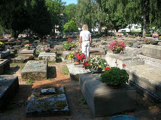 Hauptfriedhof Nürnberg, mit Geist (?)
