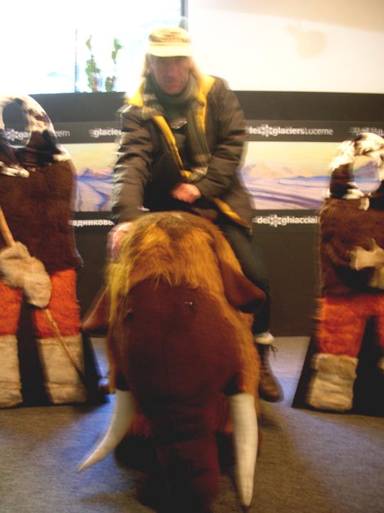 Alt wie Manfred, das Mammut: Manfred der Autor