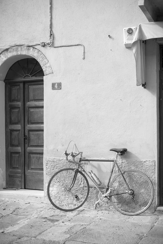 Stillleben mit Rad