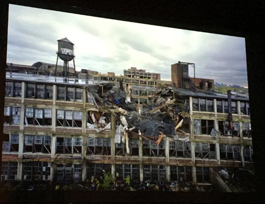 Aud der preisgekrönten Arbeit über die Ruinen von Detroit