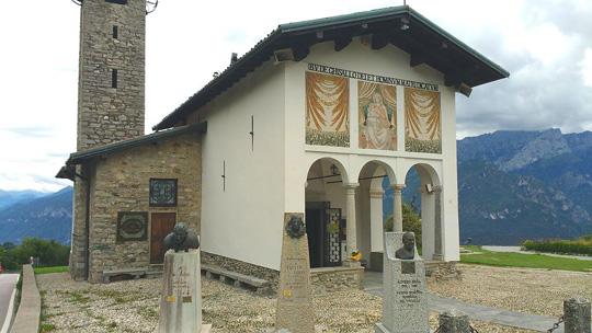 Die Kapelle Madonna del Ghisallo