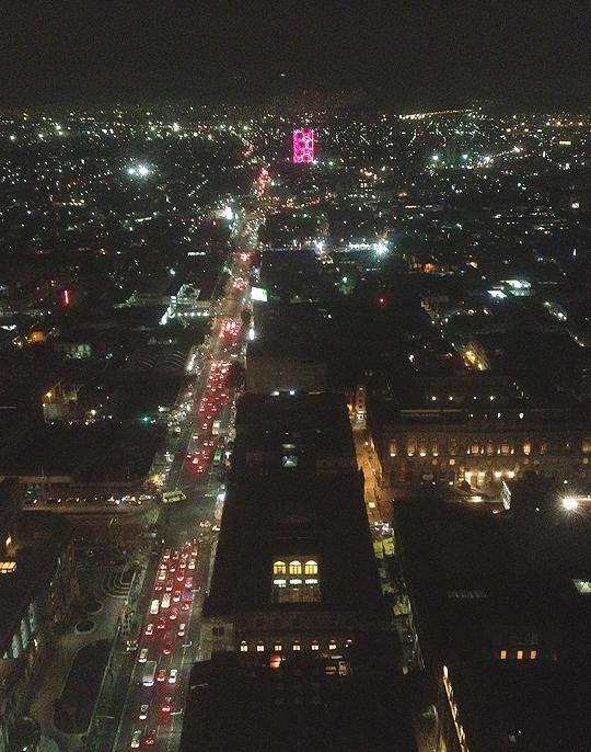 Mexico-City von oben (G. Braghetti)
