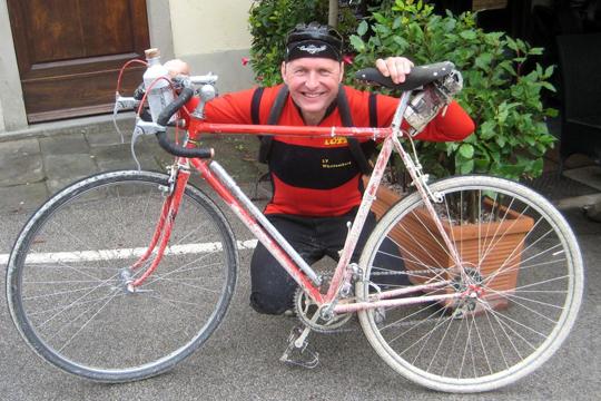 Michael und sein Rad
