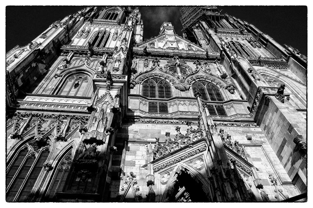 Regensburg Domfassade Totale