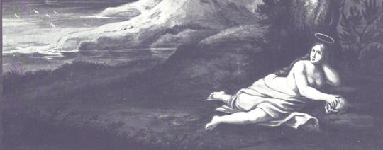 Erotisch: Auszug aus Die heilige Magdalena als Büsserin, auch von HIeronymus Hess
