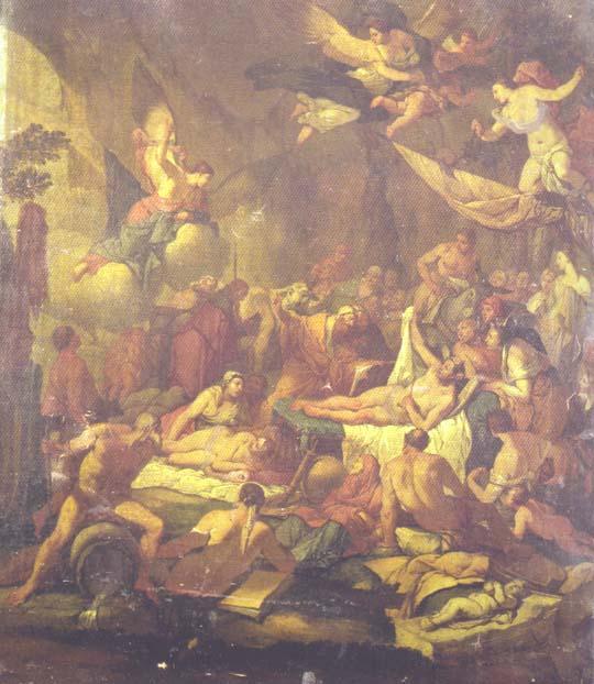 Das Königreich von Hypnos, Giulio Carponi, 17. Jahrhundert