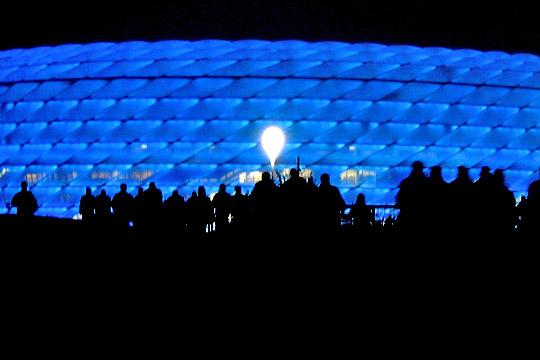 Arena. Ein Foto von Helmut Krämer