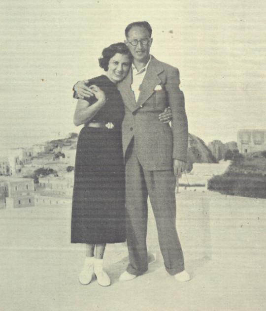 Mario Magri und seine Frau Rita