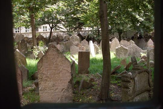 Der Voyeur: Auf diesem Friedhof soll Rabbi Löw liegen