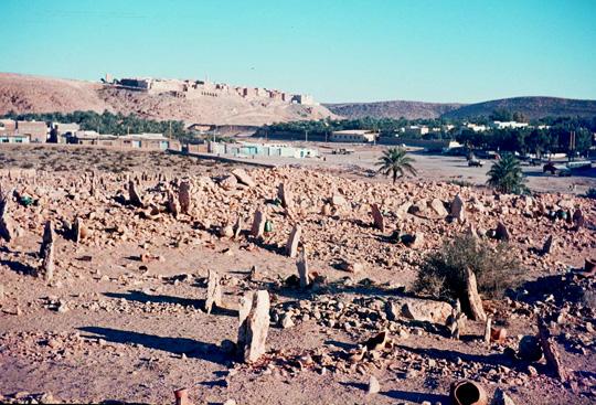 Ein Wüstenfriedhof