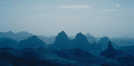 Das Hoggar-Gebirge
