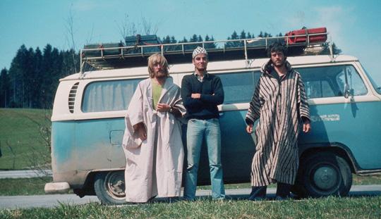 So sahen wir nach Abschluss der Reise aus, vor fast 40 Jahren