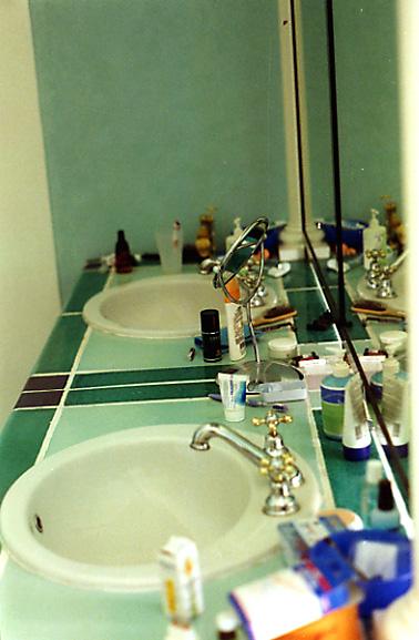 Wo man sich wäscht