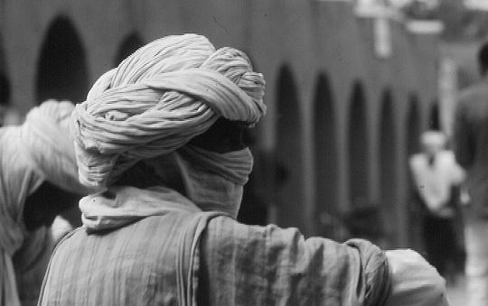 Ein Tiuarg. Fotografiert von mir 1978 in Algerien